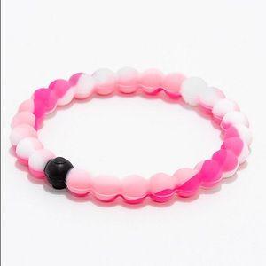 Breast Cancer Lokai Bracelet Pink Camo Size Large